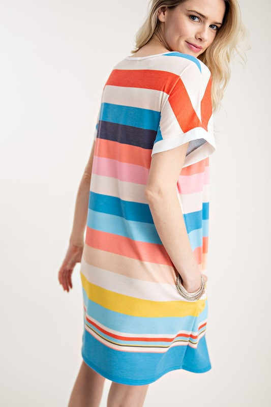 Brites Striped Dress
