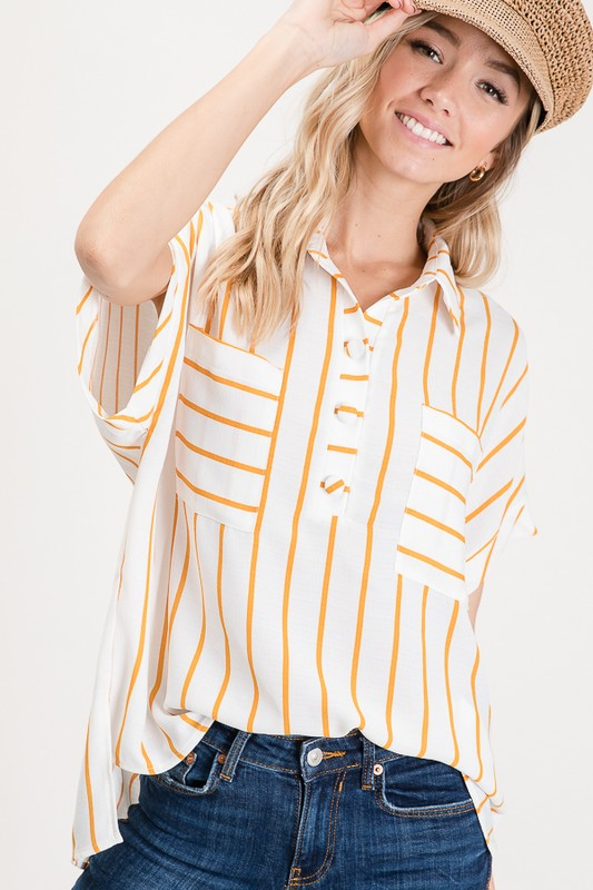 Nautical Stripes Top