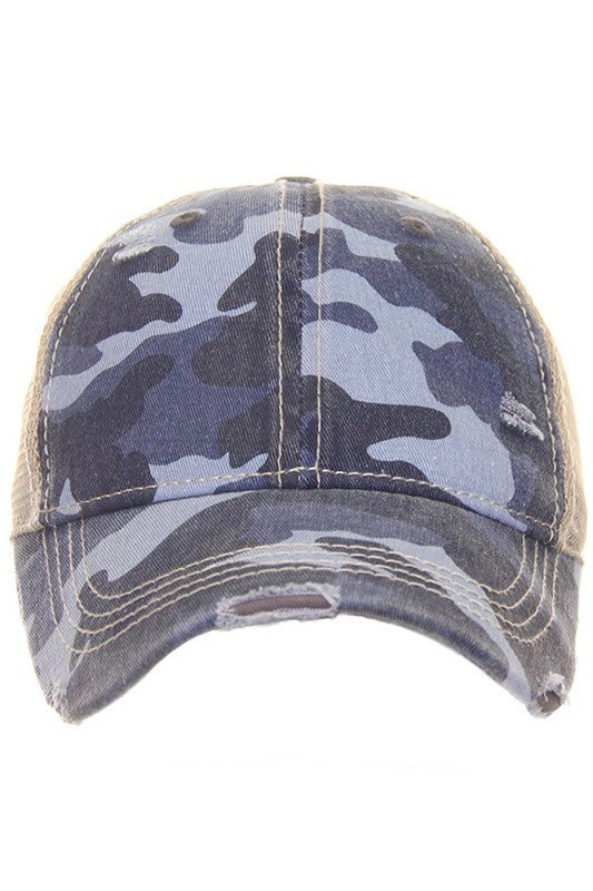 CC High Pony Cap, Classic Back