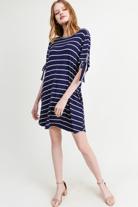 Stripe Me Later Dress
