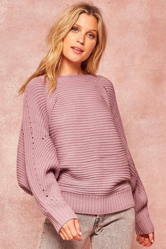 Lovely Lilac Sweater