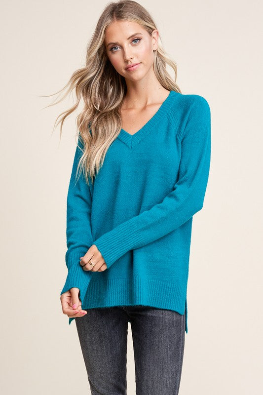 Jade V-Neck Sweater