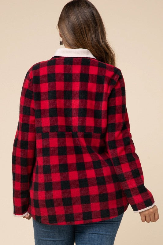 Buffalo Plaid Fleece