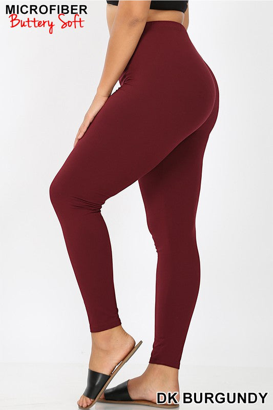 Brushed Microfiber Leggings
