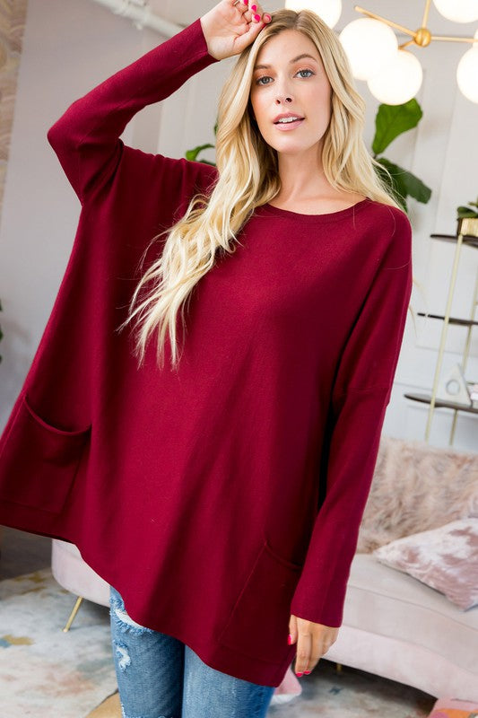Sweater Tunics, with Pockets!