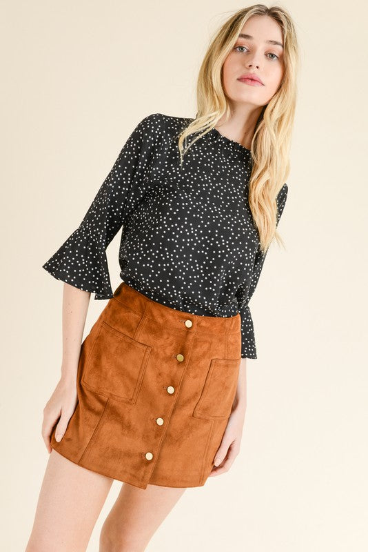 Dot to Dot Blouse