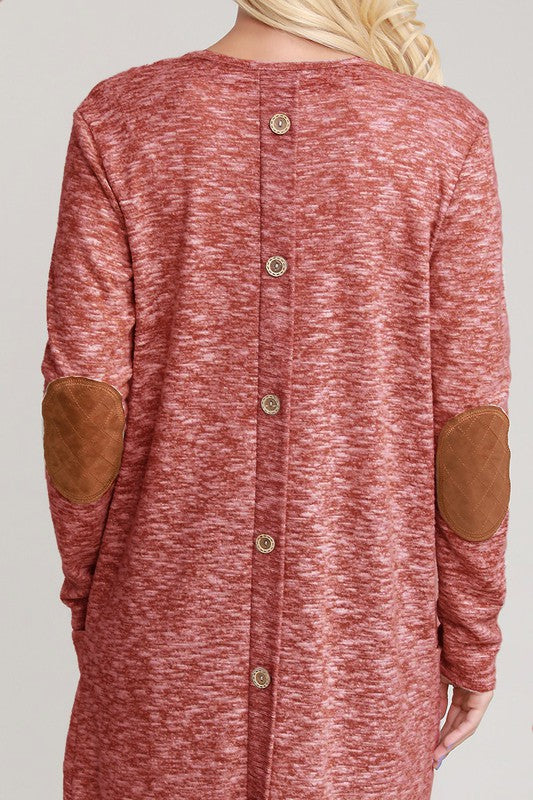 Buttoned Up Hacci Cardigan