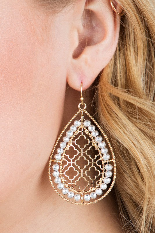 Moroccan Teardrop Earrings