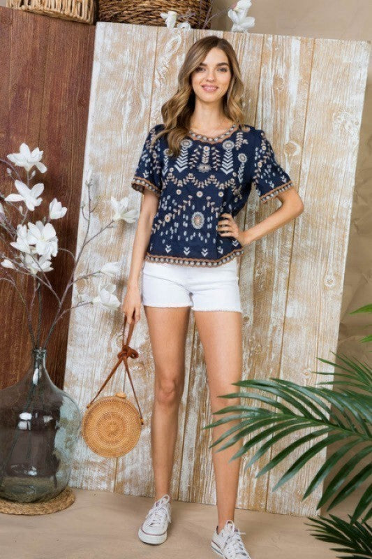 Bermuda Bliss Top