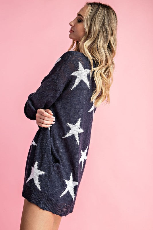 Star Cardigan or Lightening Bolt Cardigan