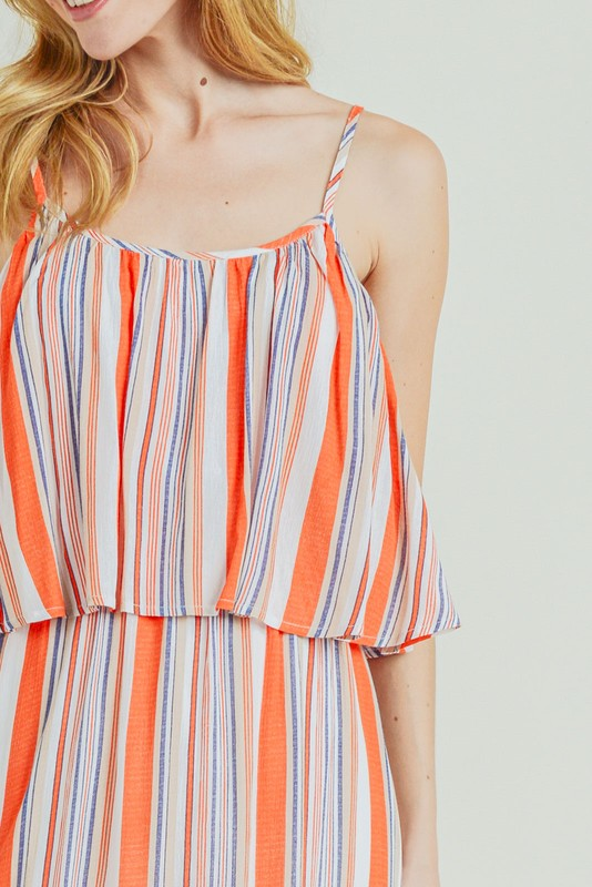 Orange Crush Maxi Dress