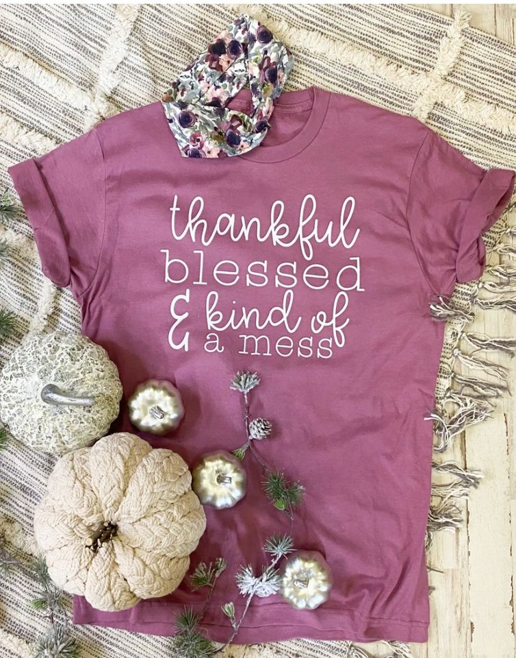 Thankful & Blessed T-Shirt