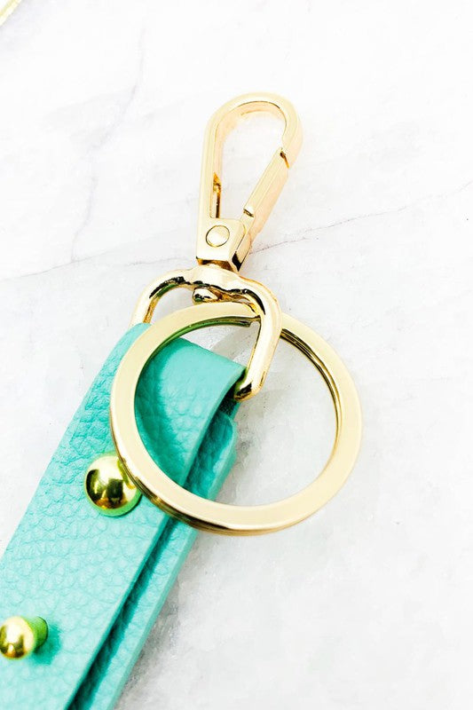 Skinnies Leather Key Chain