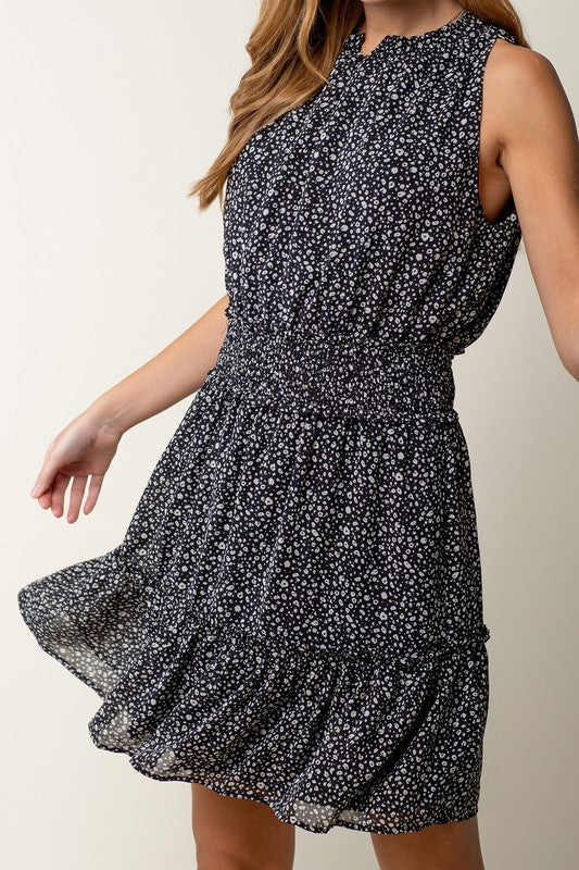 Dot to Dot Dress