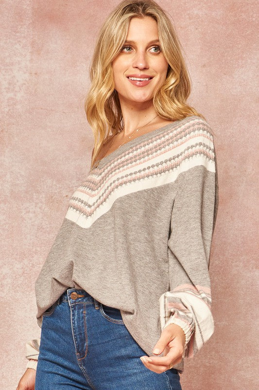 Farrah V-Neck Sweater