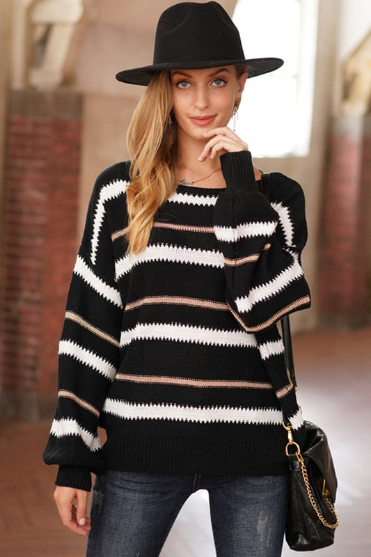 Saturn Striped Sweater