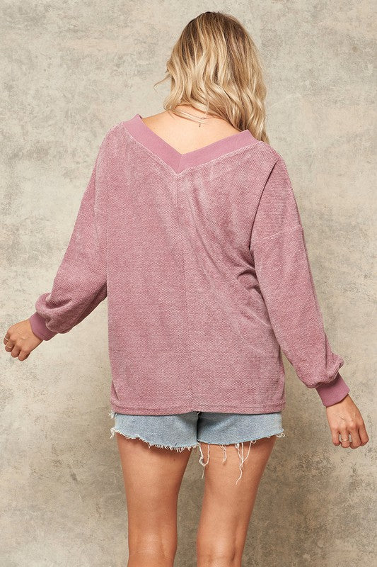 Sarah Chenille Top