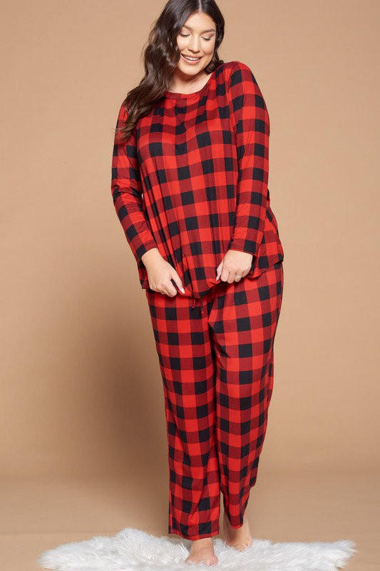 Buffalo Plaid Lounge Sets