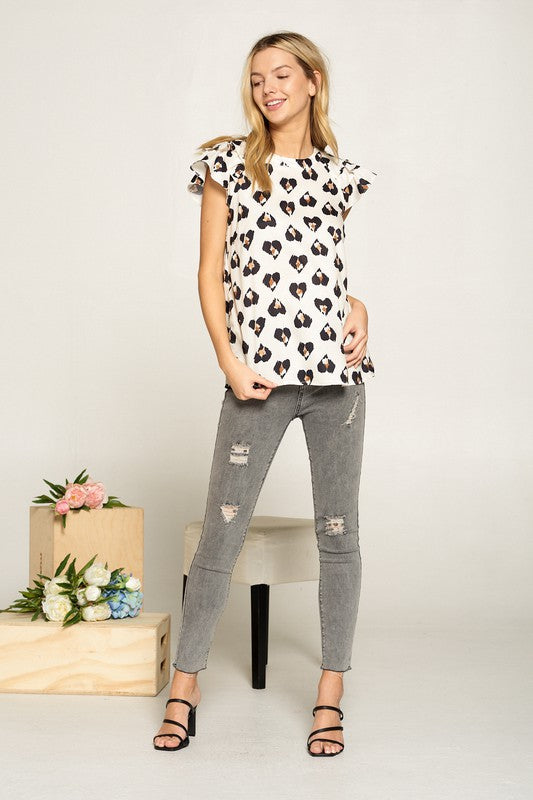 Lovely Dotted Top