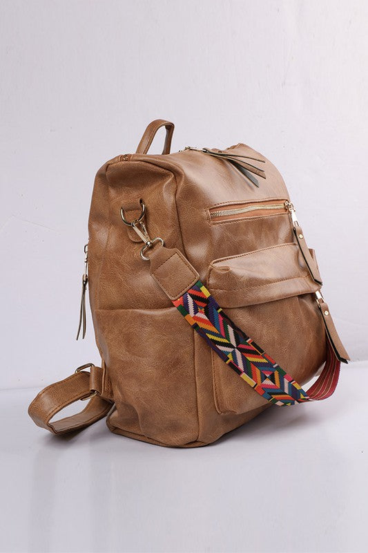 Convertible Guitar Strap Backpack