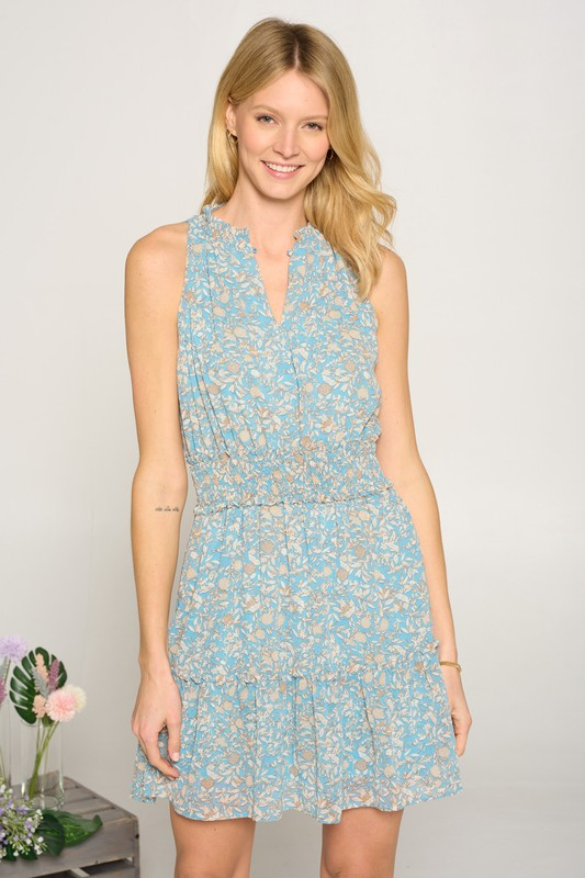 Iced Floral Dress