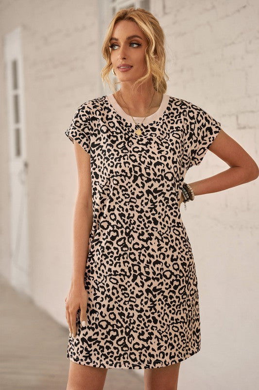 Leopard Pocket Dress