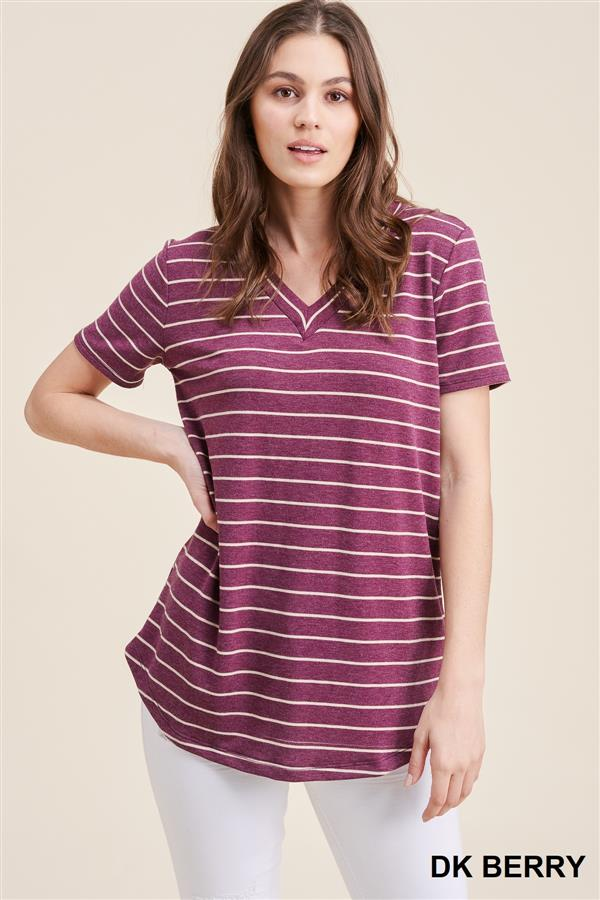 Stripe T-Shirts, 3 Colors