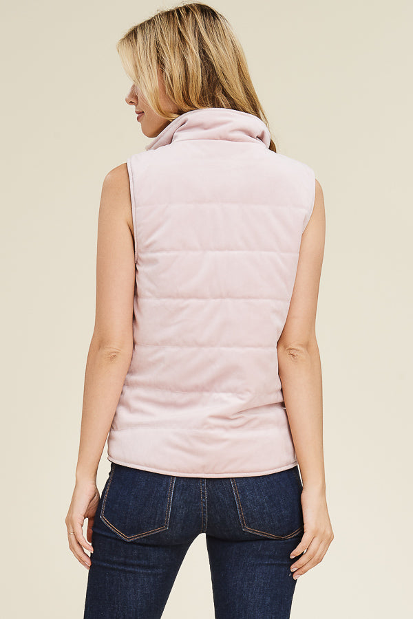 Blush Padded Vest
