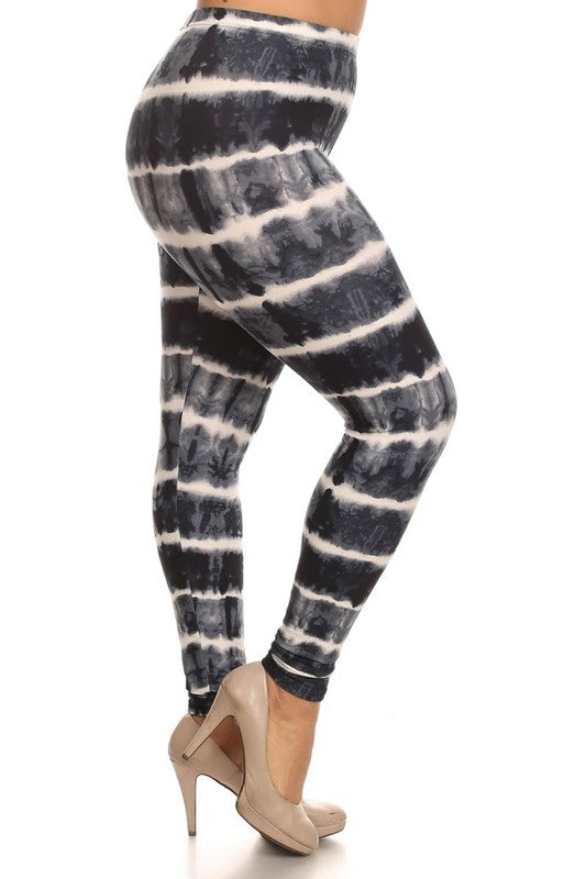 Butter Soft Leggings, Tie Dye