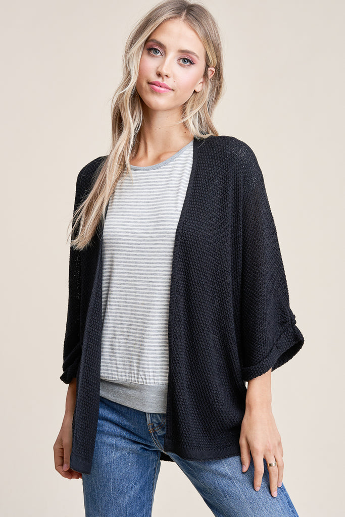 Throw On Knit Kimono Cardigans, More Colors