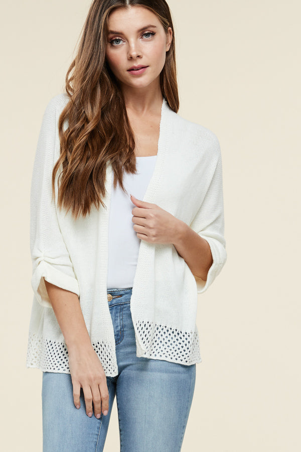 Cut Out Cardigans