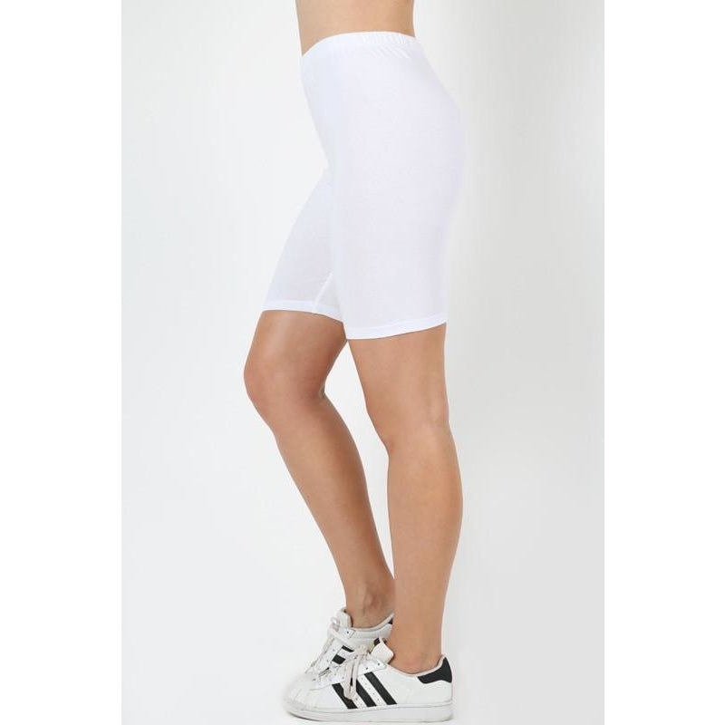 Cotton, Under Dress Biker Shorts