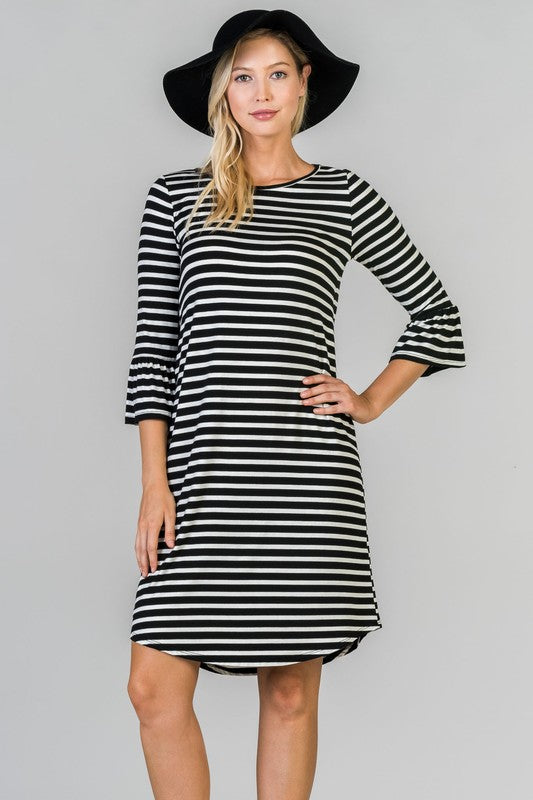 Sandra Striped Dress