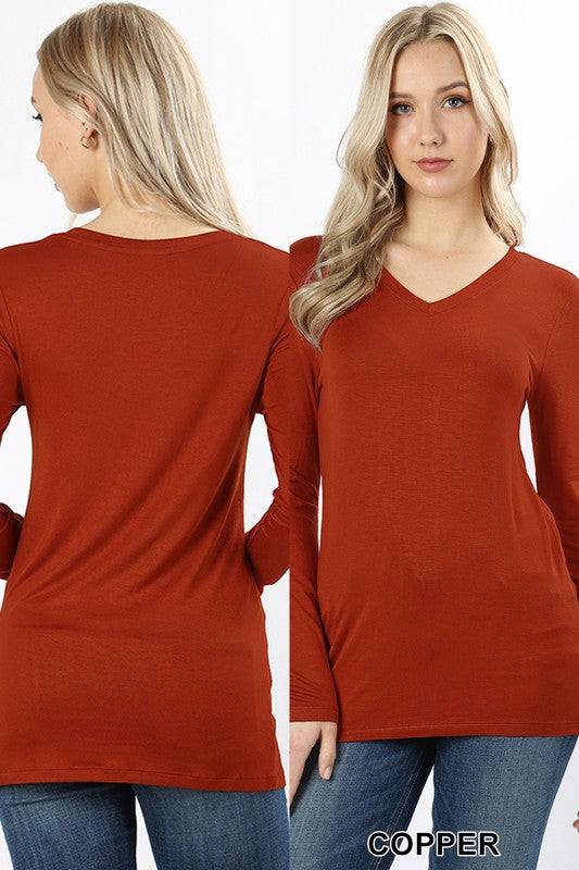 Long Sleeve Layering T-shirt, More Colors