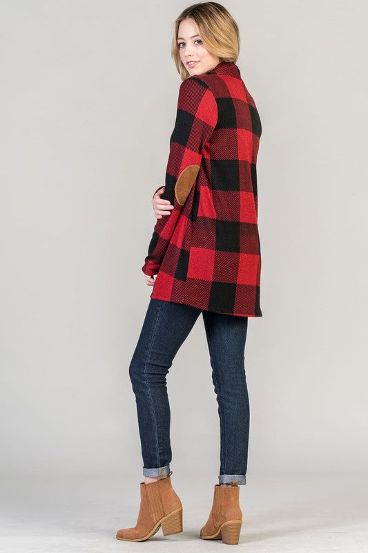 Buffalo Plaid Cardigans, 2 Colors