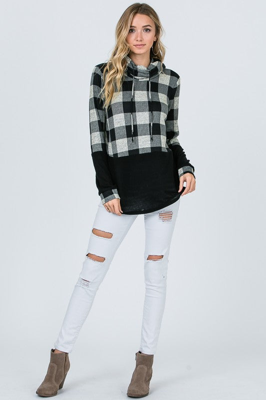 Buffalo Plaid Knit - 2 Colors