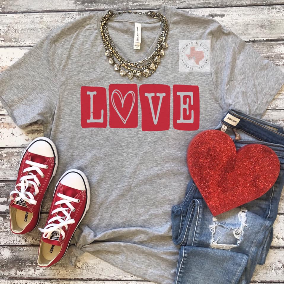 Scrabble Love T-Shirt