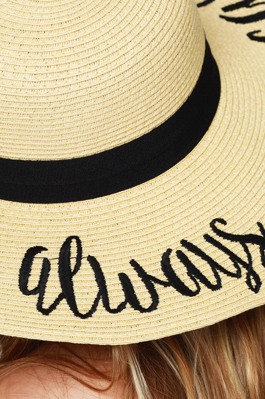 Always on Vacay Hat
