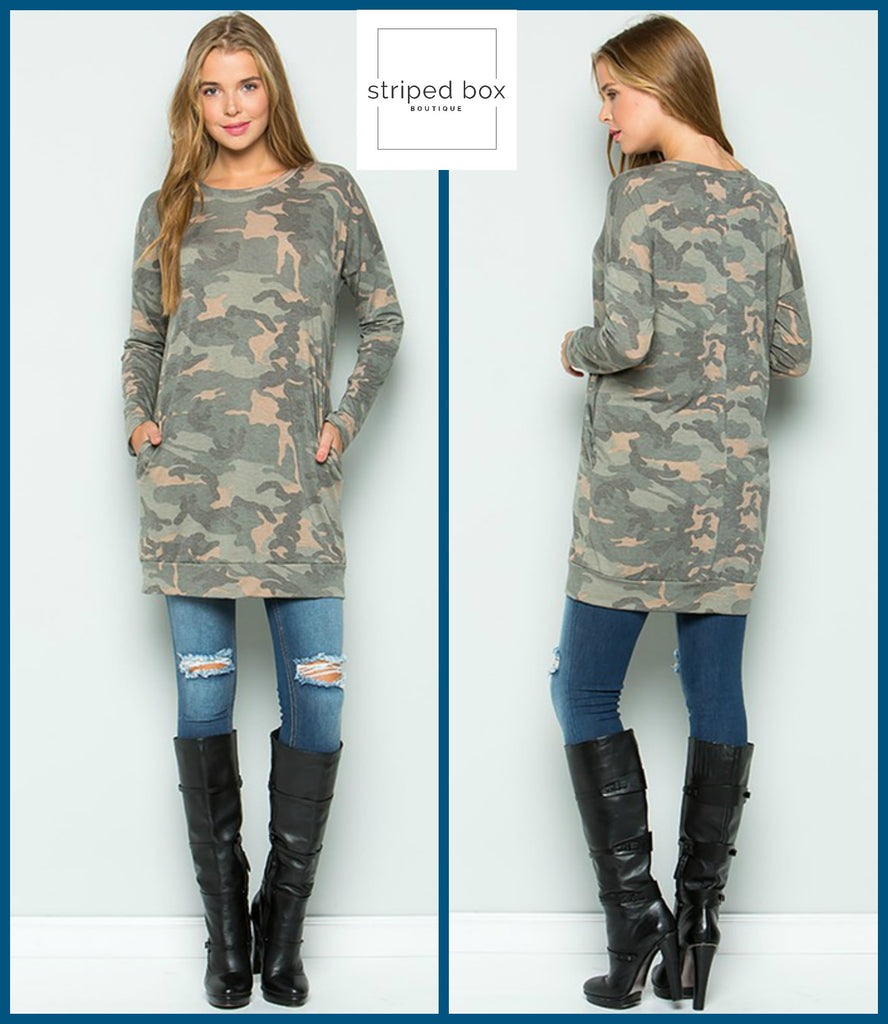 Camo Tunic, Pockets