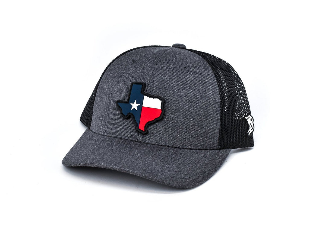 Texas Patch Curved Trucker Hat