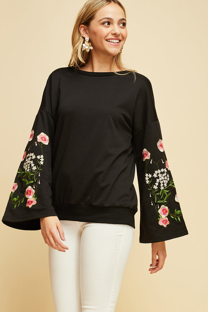 Forget Me Not Floral Top