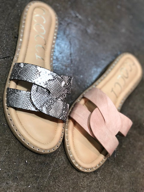 Sugar Sandal - 2 Colors