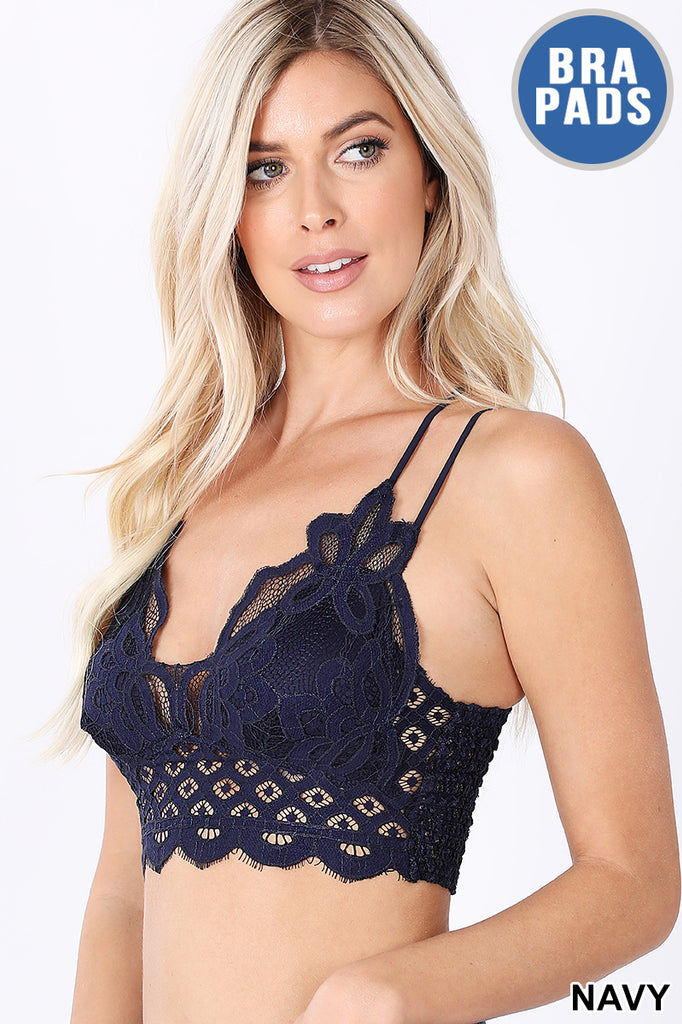 Flower Lace Bralette
