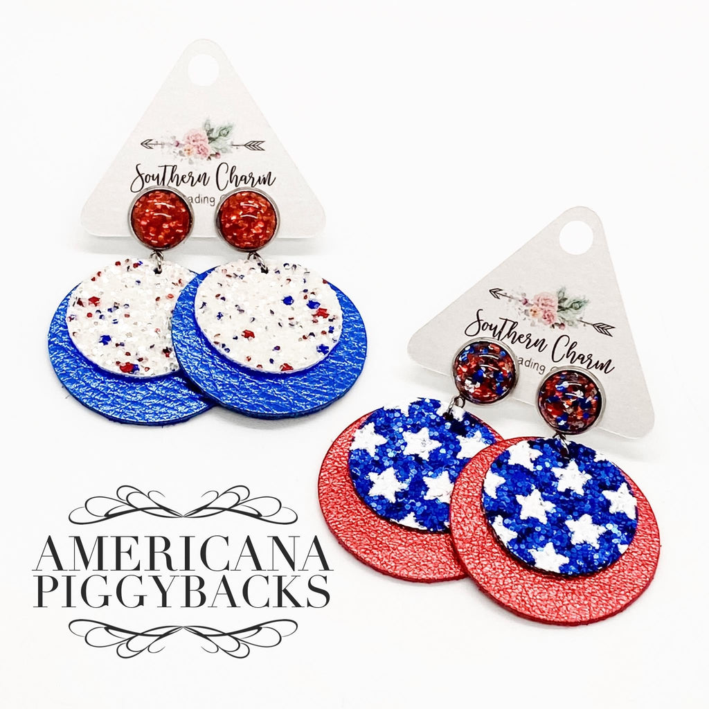 Patriotic Double Dangles