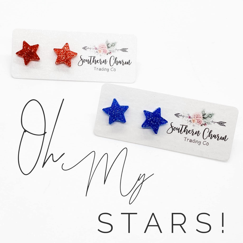 Star Studs, 2 Colors