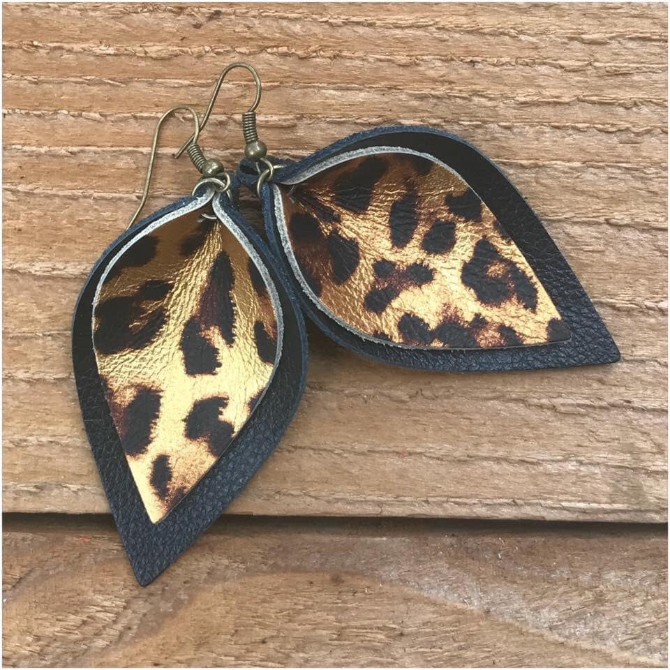 Leopard Petals, 3 Colors