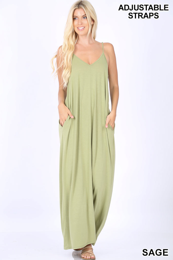 Cami Maxi, Pockets, More Colors