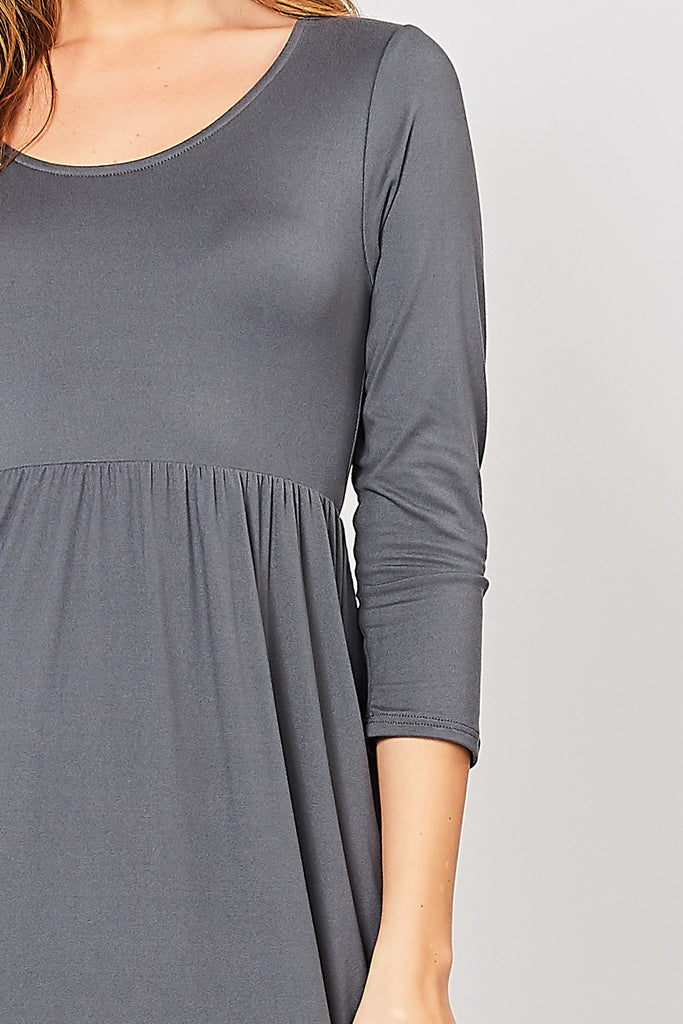 Grey Empire Maxi Dress