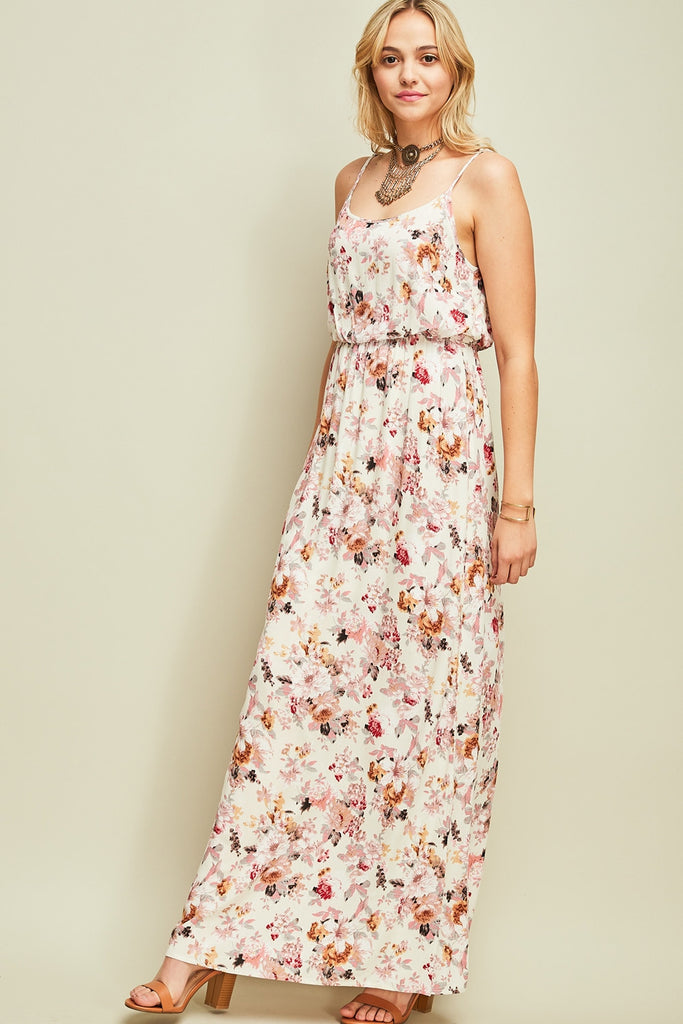 Botanical Maxi Dress