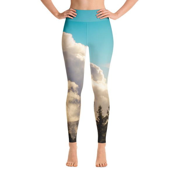 In the Clouds Yoga Leggings